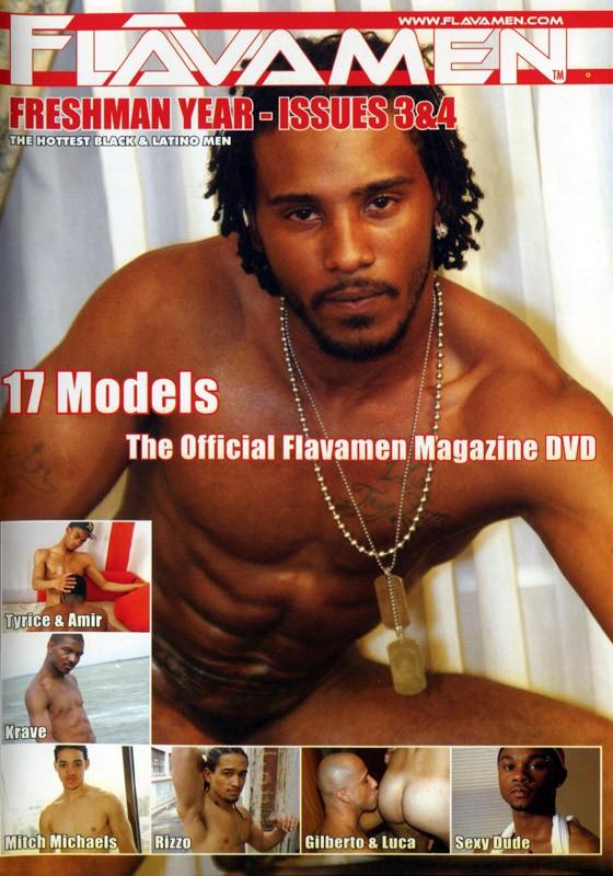 FlavaMen Freshman Year - Issues 3 & 4 DVD - Front