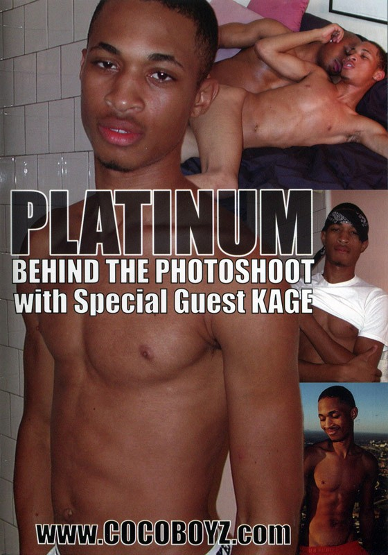 Platinum - Behind The Photoshoot DVD - Front