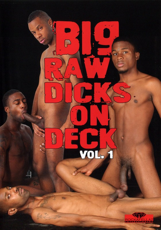 Big Raw Dicks On Deck Vol. 1 DVD - Front