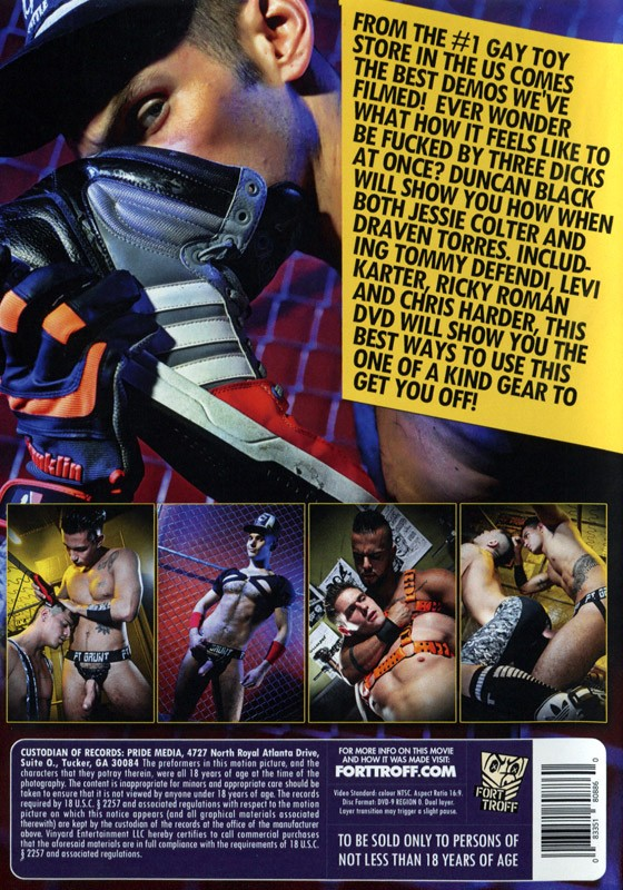 Fort Troff Vol. 1 DVD - Back