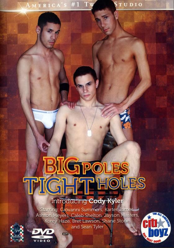 Big Poles Tight Holes DVD - Front
