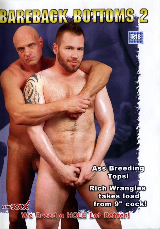 Bareback Bottoms 2 DVD - Front