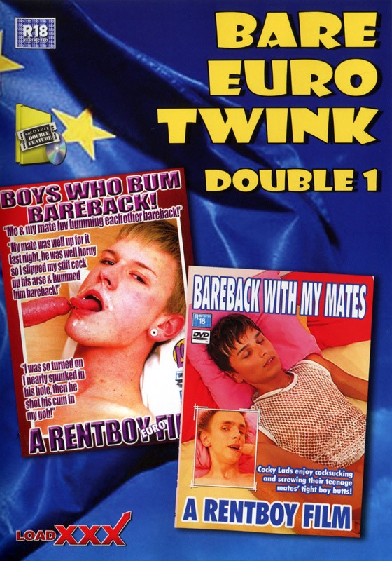 Bare Euro Twink Double 1 DVD - Front