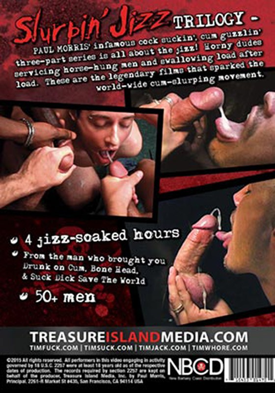 Slurpin' Jizz Trilogy DVD - Back
