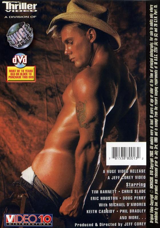 Thriller DVD - Back