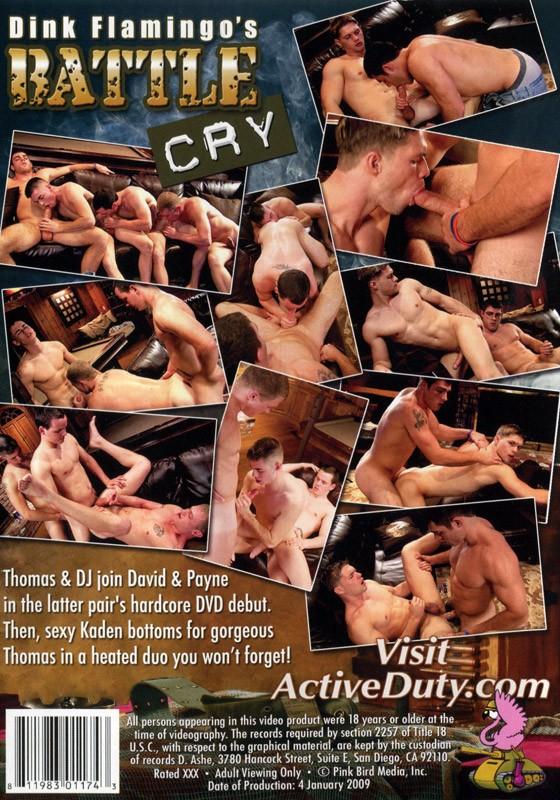 Battle Cry DVD - Back