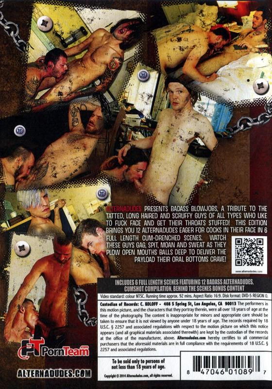 Badass Blowjobs DVD - Back