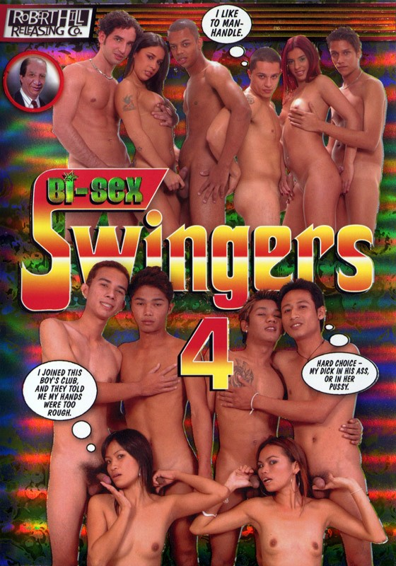 Bi-Sex Swingers 4 DVD - Front