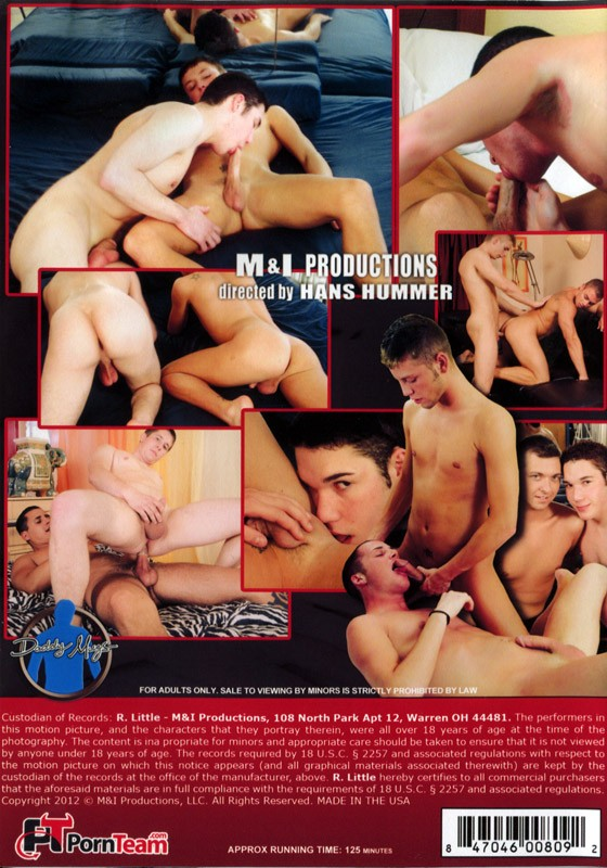 Boys Fuck Boys DVD - Back