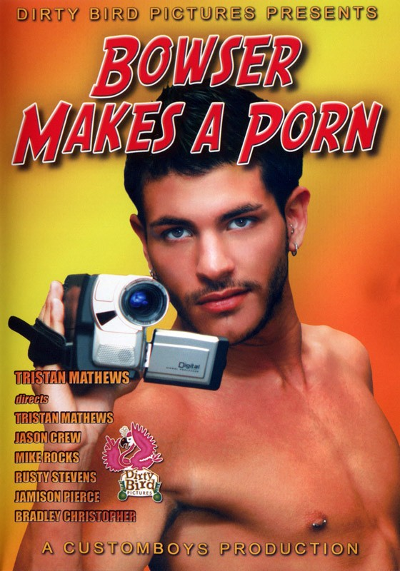 Bowser Makes A Porn DVD - Front