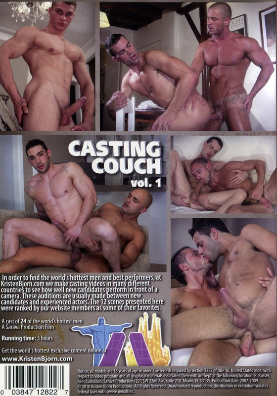 Casting Couch vol. 1 DVD - Back