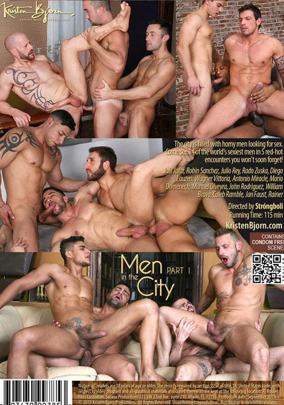 Men in the City part 1 DVD - Back