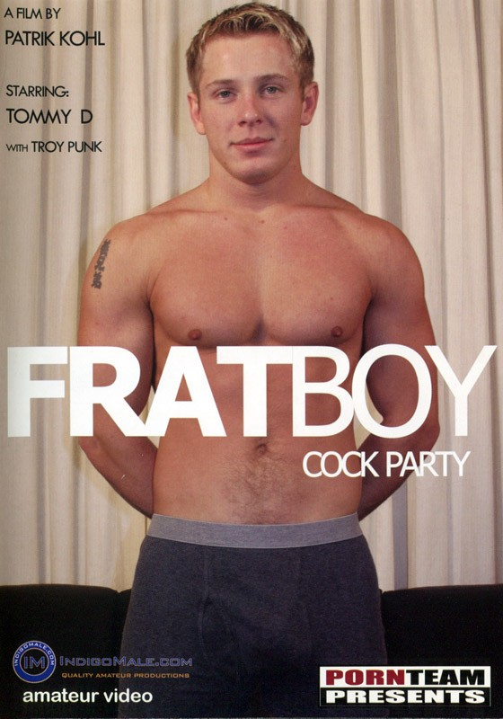 Fratboy Cock Party DVD - Front