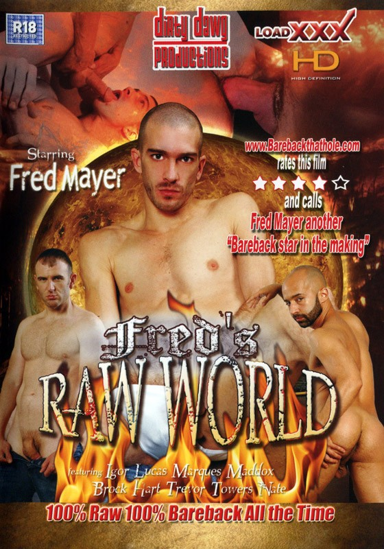 Fred's Raw World DVD - Front
