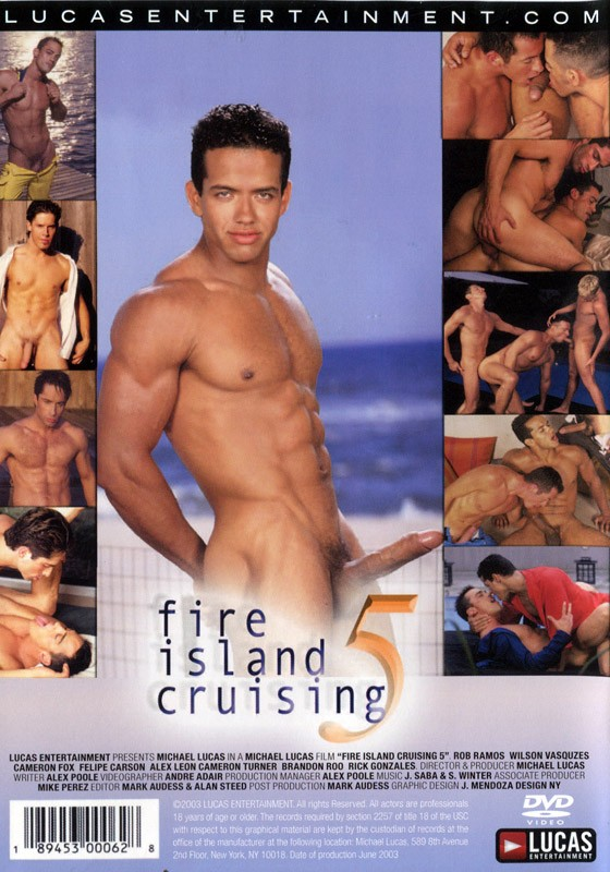 Fire Island Cruising 5 DVD - Back