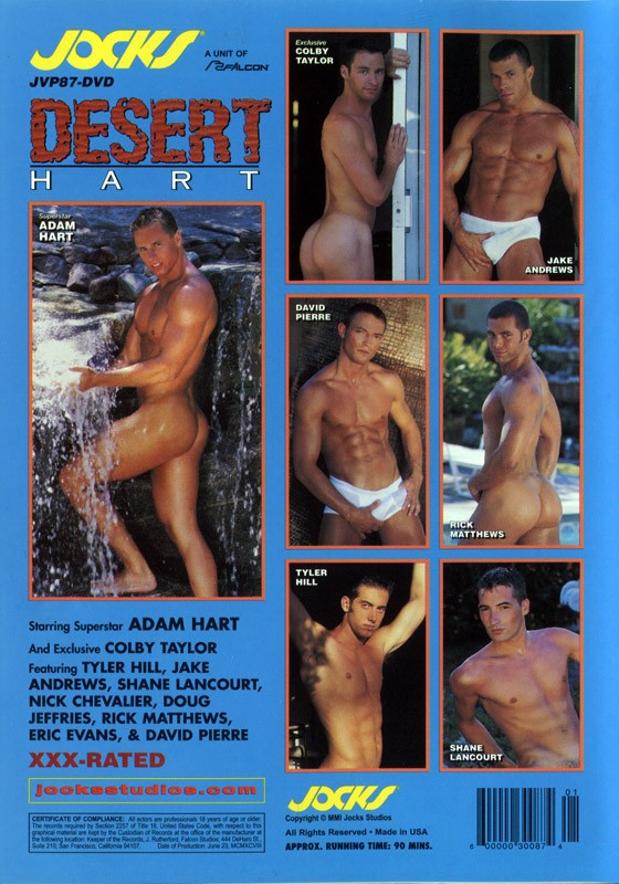 Desert Hart DVD - Back