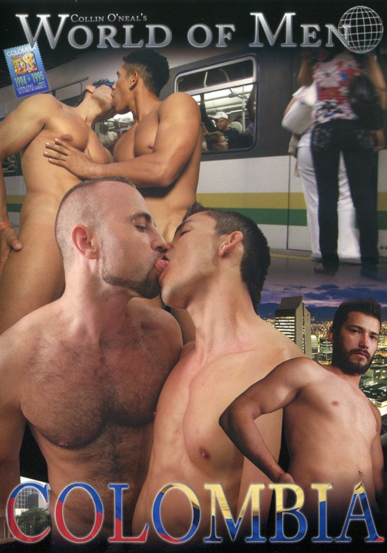 World of Men - Colombia DVD - Front