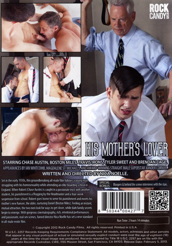 His Mother's Lover DVD - Back