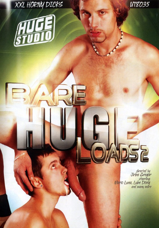 Bare Huge Loads 2 DVD - Front