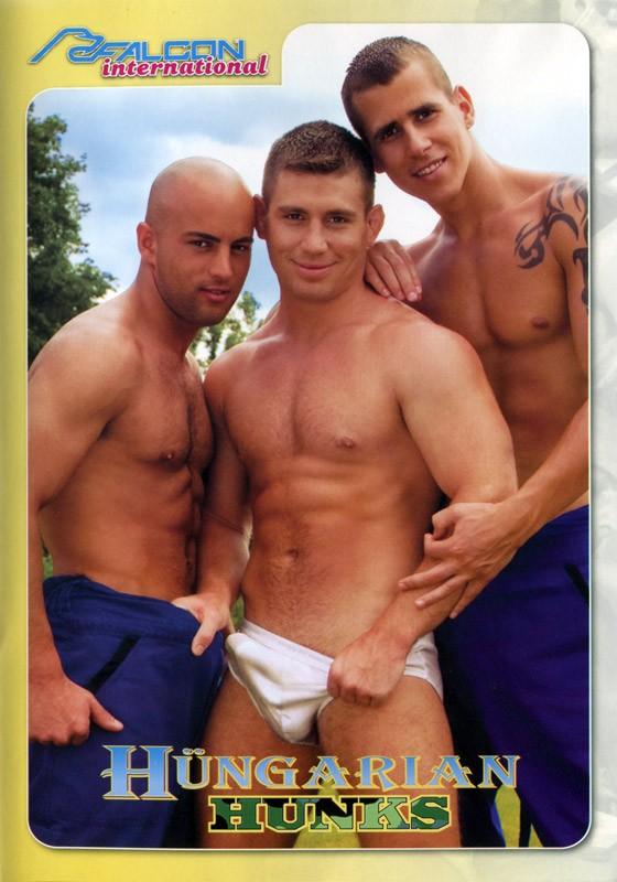 Hungarian Hunks DVD - Front