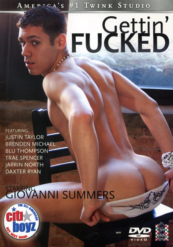 Gettin' Fucked DVD - Front