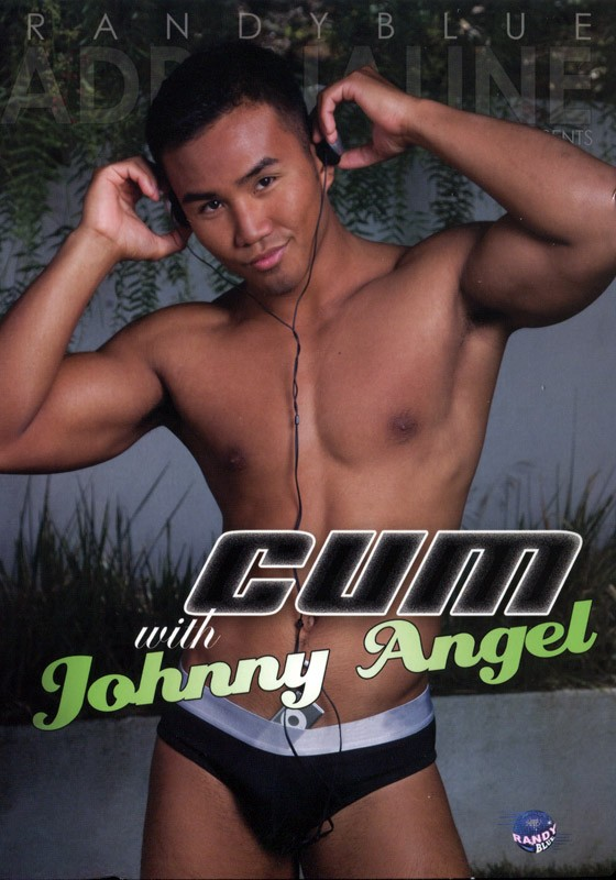 Cum With Johnny Angel DVD - Front