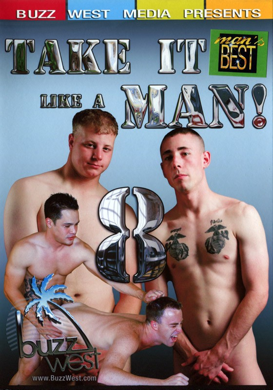 Take it Like a Man 8 DVD - Front