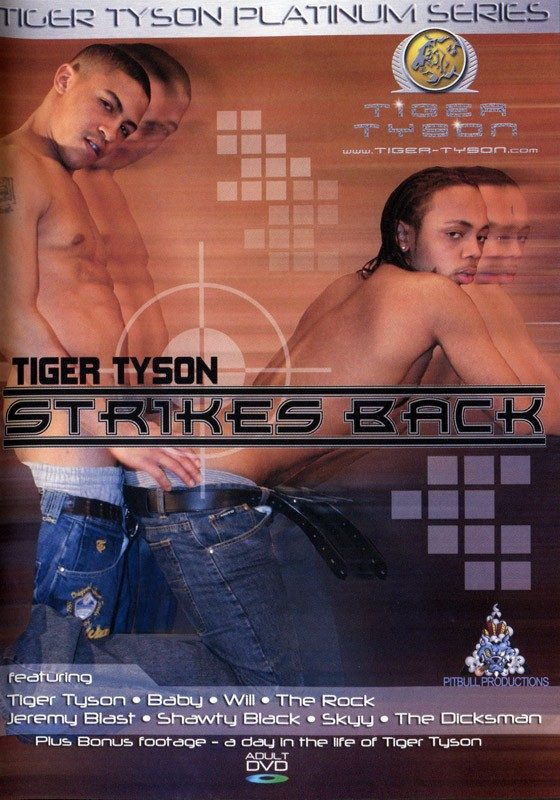 Tiger Tyson Strikes Back DVD - Front