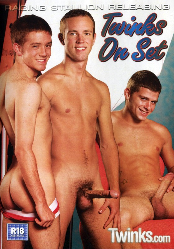 Twinks On Set DVD - Front