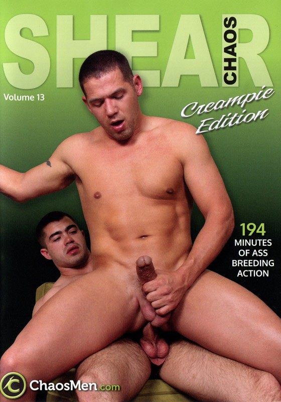 Shear Chaos volume 13: Creampie Edition DVD - Front