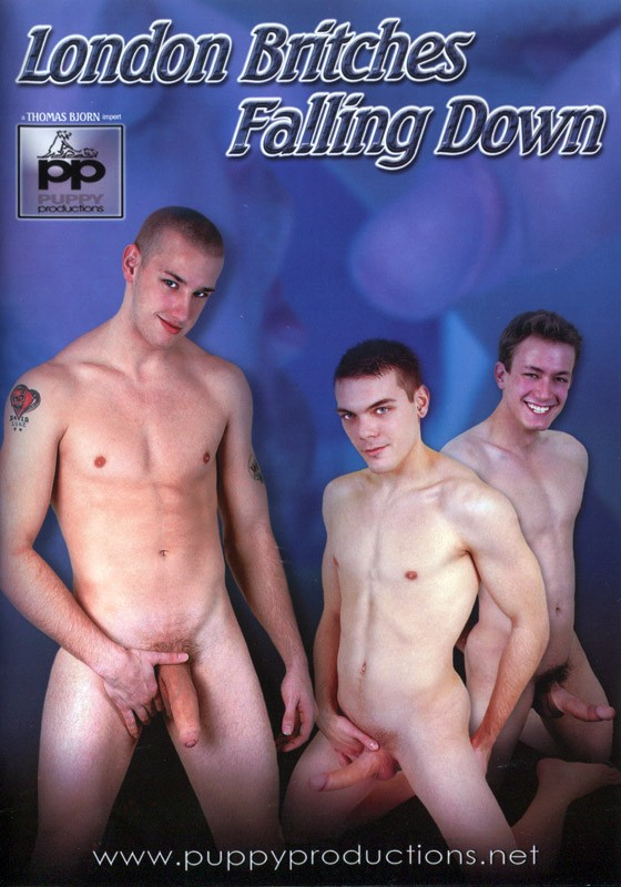 London Britches Falling Down DVD - Front