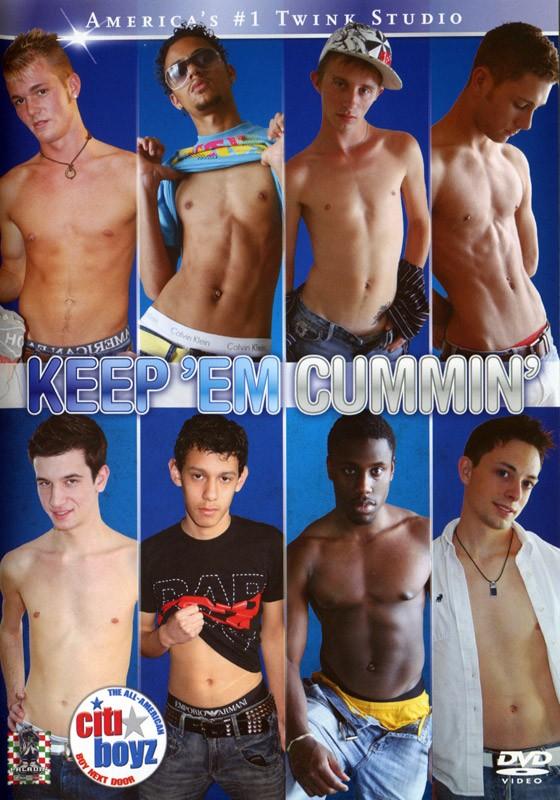 Keep'Em Cummin' DVD - Front