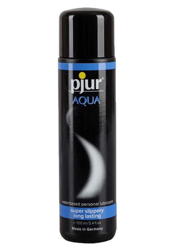 Pjur Aqua Bottle 100ml - Front
