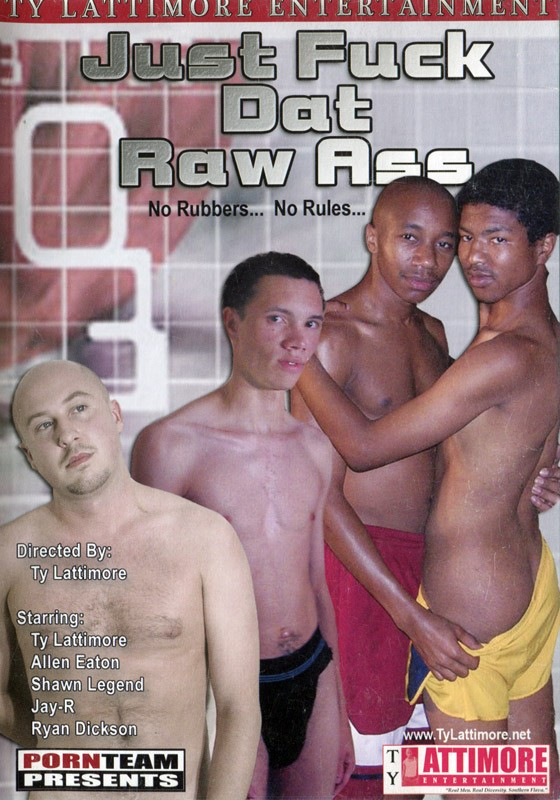 Just Fuck Dat Raw Ass DVD - Front