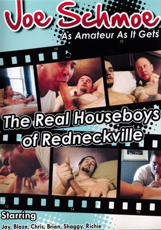 Joe Schmoe - The Real Houseboys of Redneckville DVD - Front