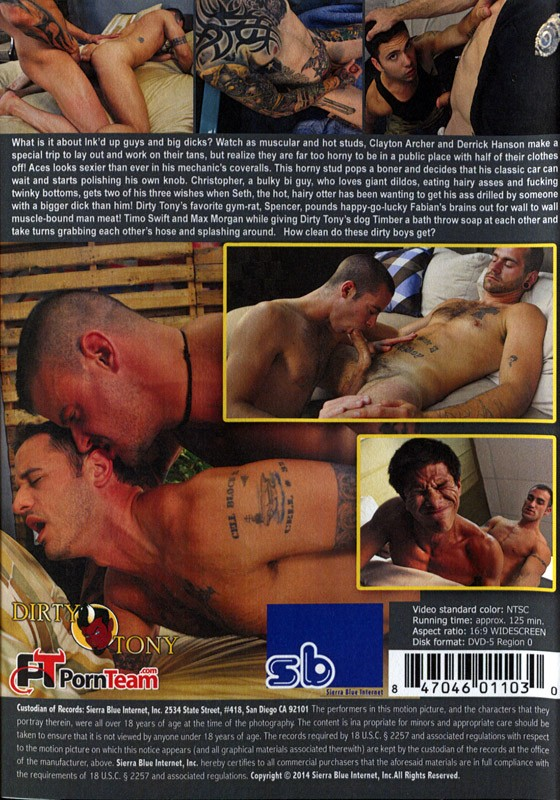 Ink'd and Dirty DVD - Back