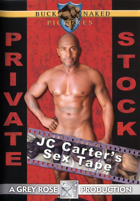 Private Stock: JC Carter's Sex Tape DVD - Front