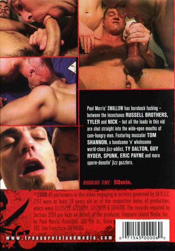 Swallow DVD - Back