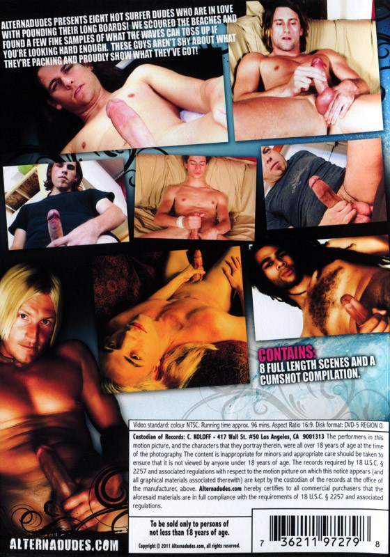 Surfer Solos DVD - Back