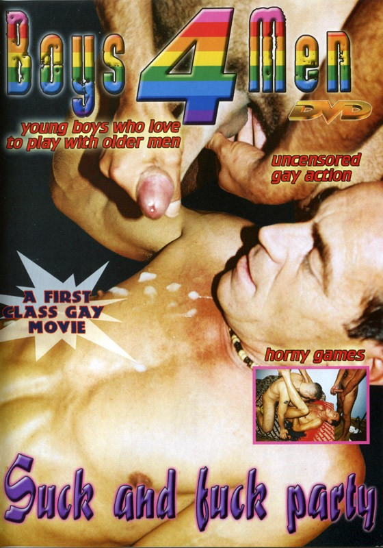 Suck and Fuck Party DVD - Front