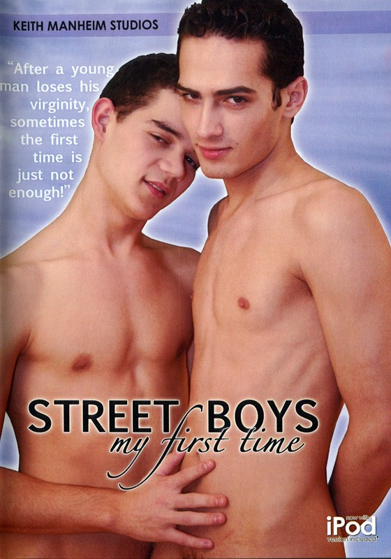 Street Boys My First Time DVD - Front