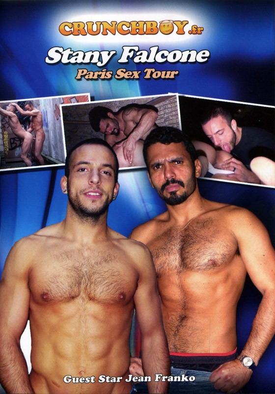Stany Falcone Paris Sex Tour DVD - Front