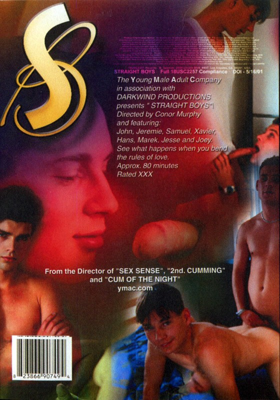 YMAC Straight Boys DVD - Back