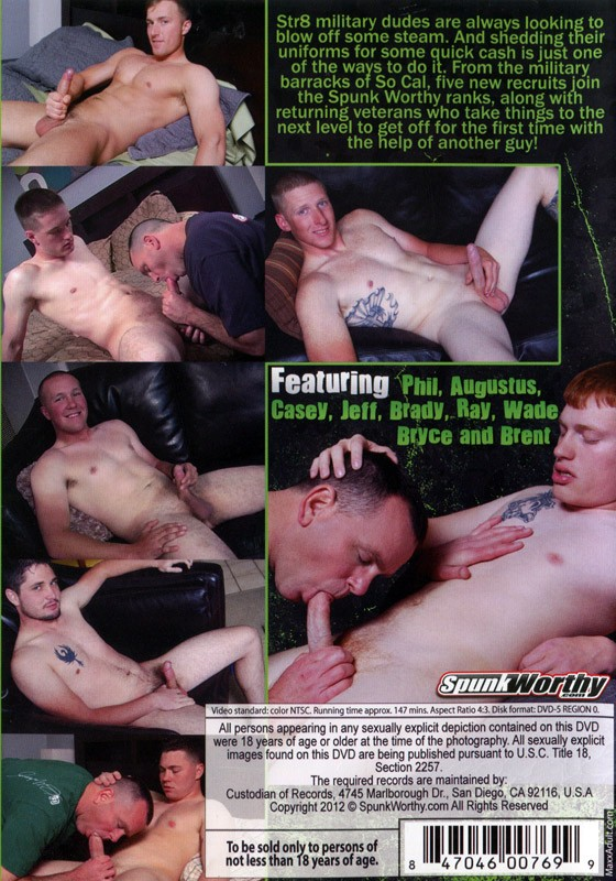 Str8 From The Barracks DVD - Back