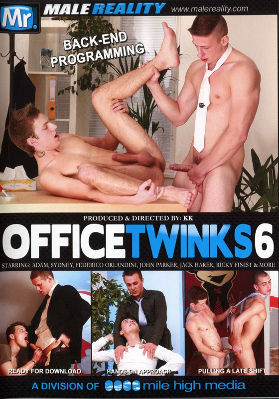 Office Twinks 6 DVD - Front