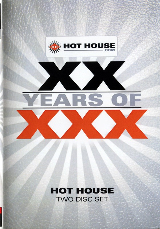 XX  Years Of XXX Hot House DVD - Front