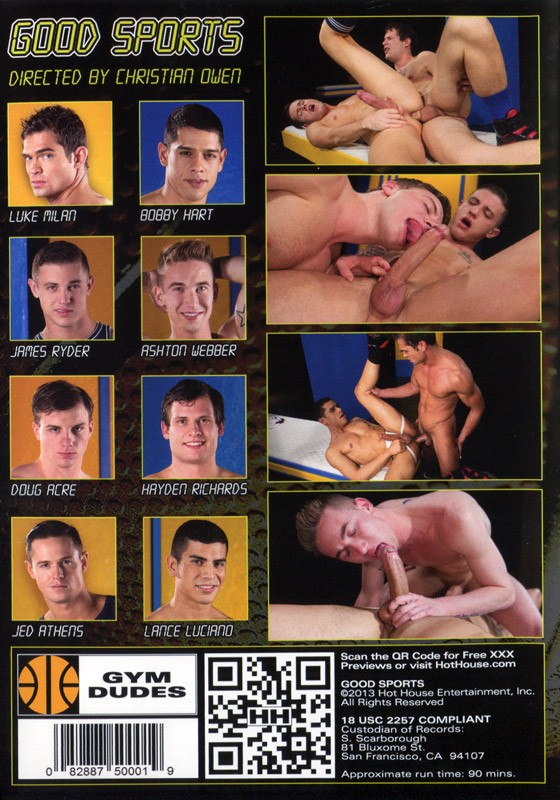 Good Sports DVD - Back