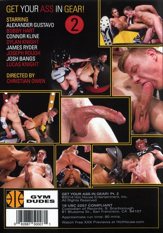 Get Your Ass In Gear! 2 DVD - Back