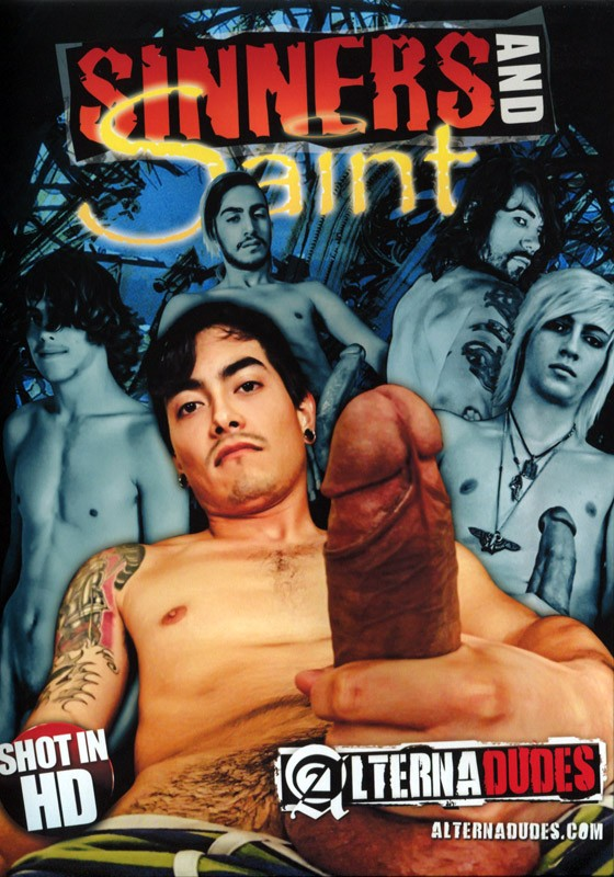 Sinners And Saint DVD - Front