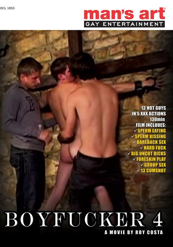 Boyfucker 4 DVD - Front
